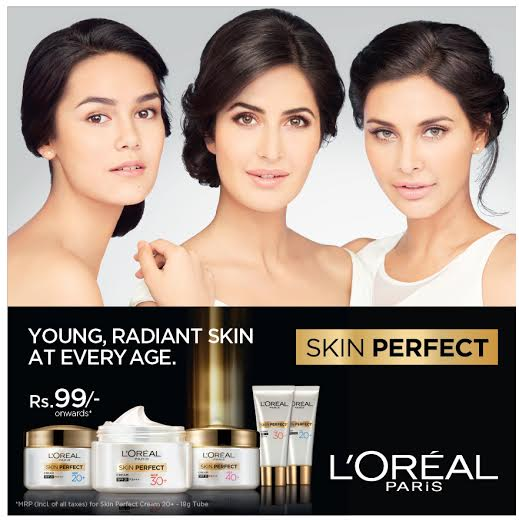 Press Release : L'Oréal Paris Skin Perfect to fulfil your skin needs at every age
