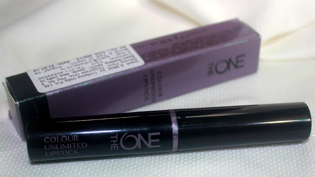 Oriflame The ONE Colour Unlimited Lipstick Shade 'Always Cranberry': Review & Swatch