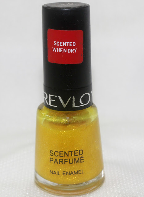 Revlon Scented Nail Polish (Pineapple Fizz): Review and NOTD