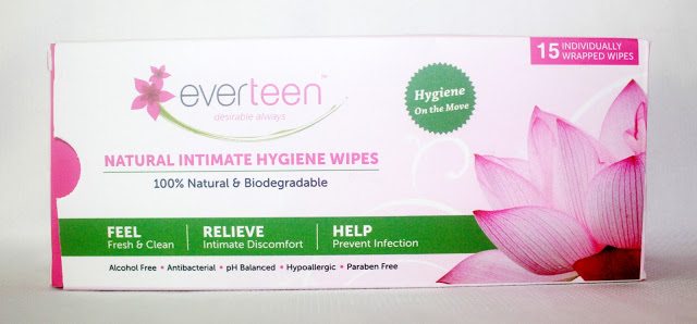 Everteen Natural Intimate Hygiene Wipes Review
