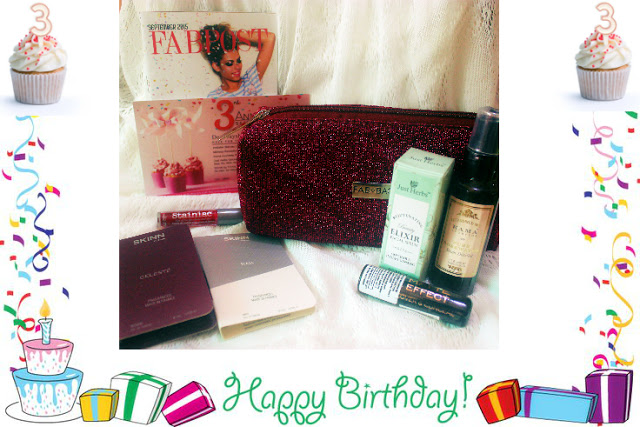 Fab Bag Anniversary special: September 2015