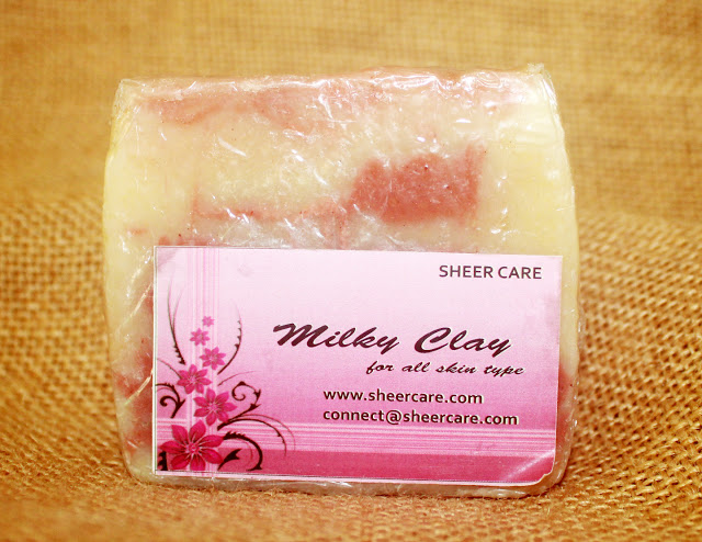 Sheer Care Milky Clay Soap Review