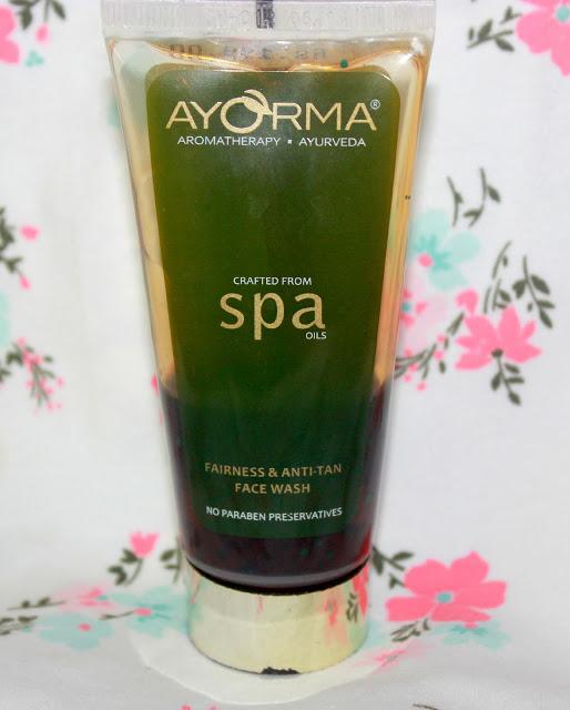 Ayorma Fairness & Anti-Tan Face Wash Review
