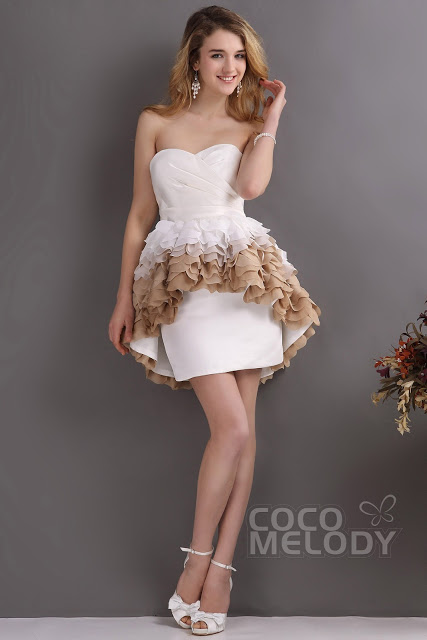 How To Choose Destination Wedding Dresses: Cocomelody