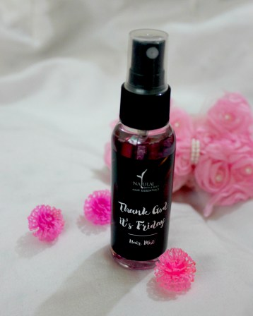 Natural Bath & Body Hair Mist Review