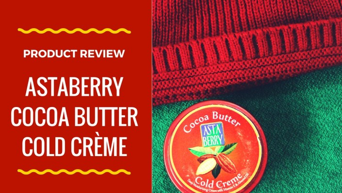 Astaberry Cocoa Butter Cold Crème Review