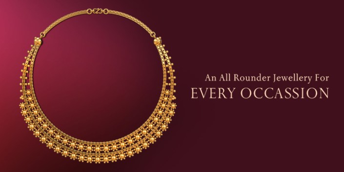 Gold Necklace: An all-rounder jewellery for every occasion