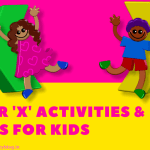Letter X Activities and Words for Kids