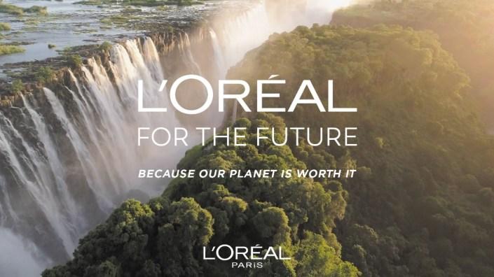 巴黎欧莱雅在世界地球日发布2030计划将为环保项目捐赠1000万欧元_包装