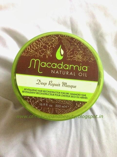Macadamia Natural Oil Deep Repair Masque Review