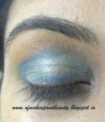 Aqua Blue Eye Make Up – EOTD