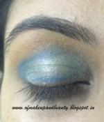 Aqua Blue Eye Make Up – EOTD