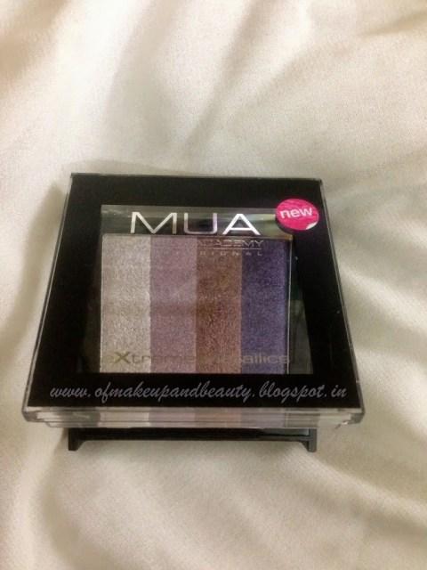 "MUA Extreme Metallics - ""Celebrity"" Eye Shadow Palette"