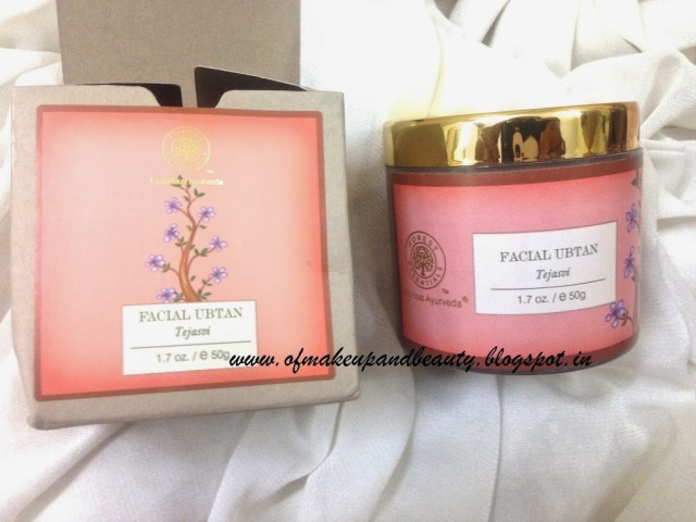 Forest Essentials Facial Ubtan - Tejasvi Review
