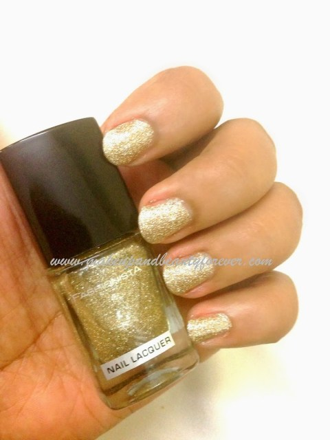 "MUA Fashionista Nail Lacquer - ""Hidden Treasure"" Shade No. 28"