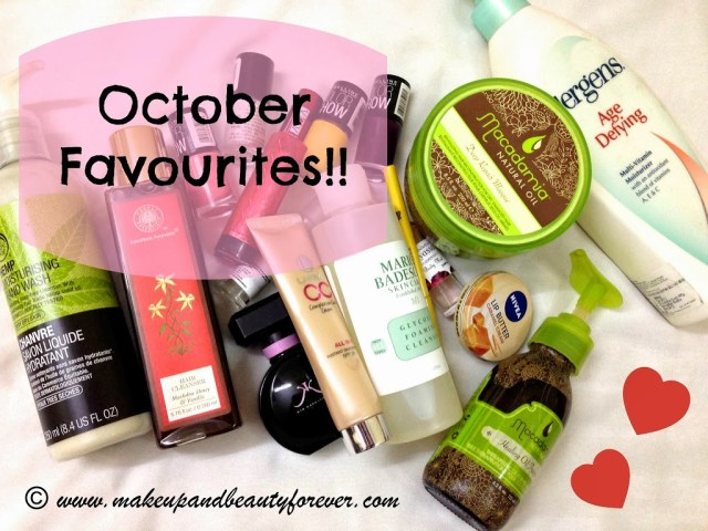 October Beauty Favourites 2013