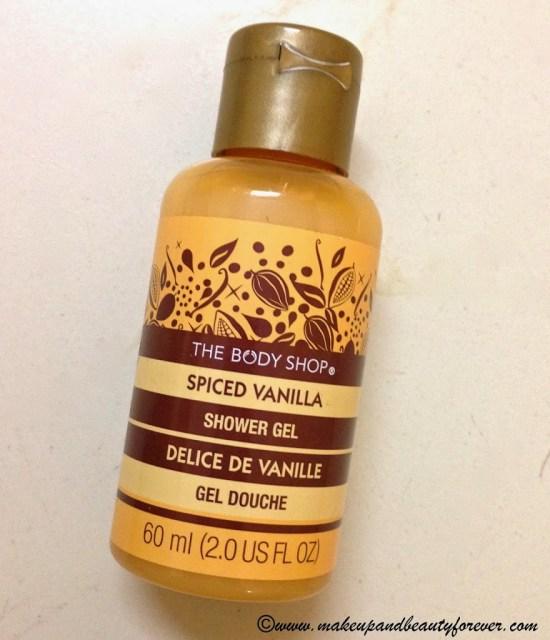 The Body Shop Spiced Vanilla Shower Gel