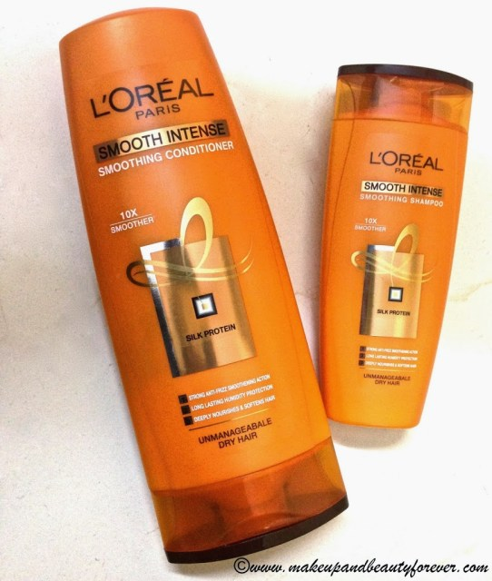 L'oreal Paris Smooth Intense Smoothing Conditioner L'oreal Paris Smooth Intense Smoothing Shampoo