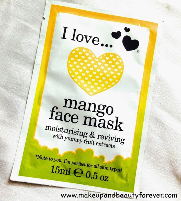 I Love... Mango Face Mask