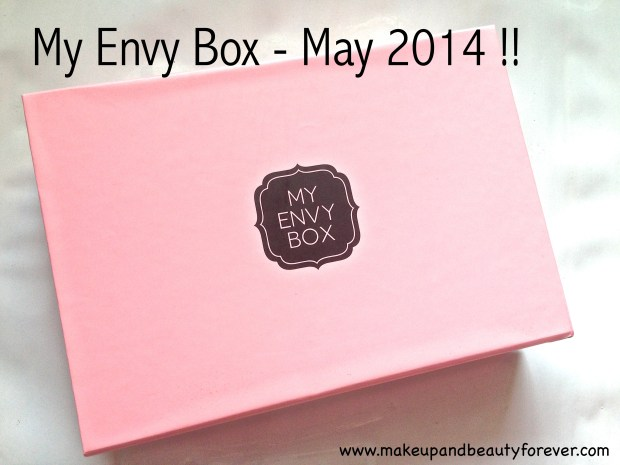 My Envy Box May 2014 MBF