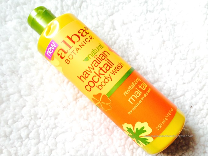 Alba Botanica Hawaiian Cocktail Body Wash revitalising Mai Tai Review