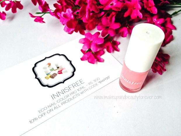 My Envy Box June 2014 innisfree nail paint