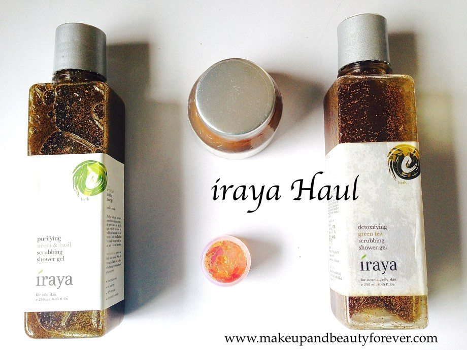 iraya skincare products