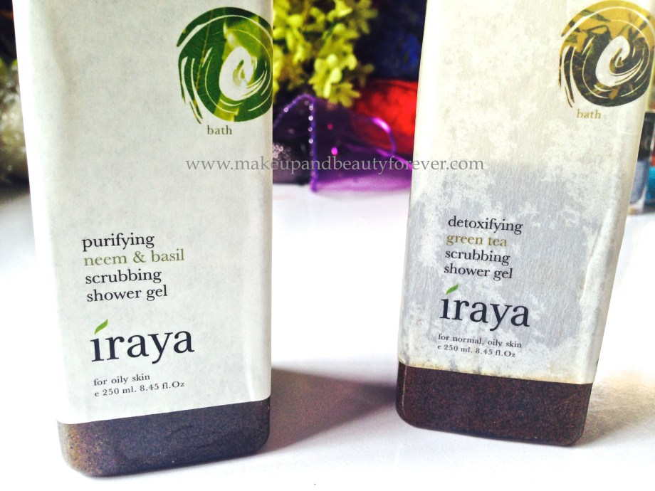 iraya scrub shower gel