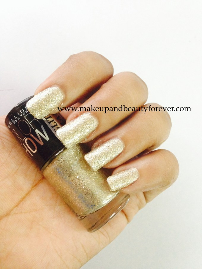 Maybelline ColorShow Glitter Mania All That Glitters 601