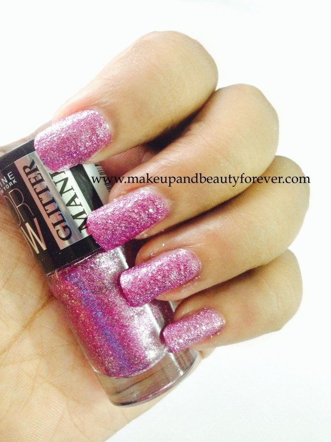 Maybelline ColorShow Glitter Mania matinee mauve 605