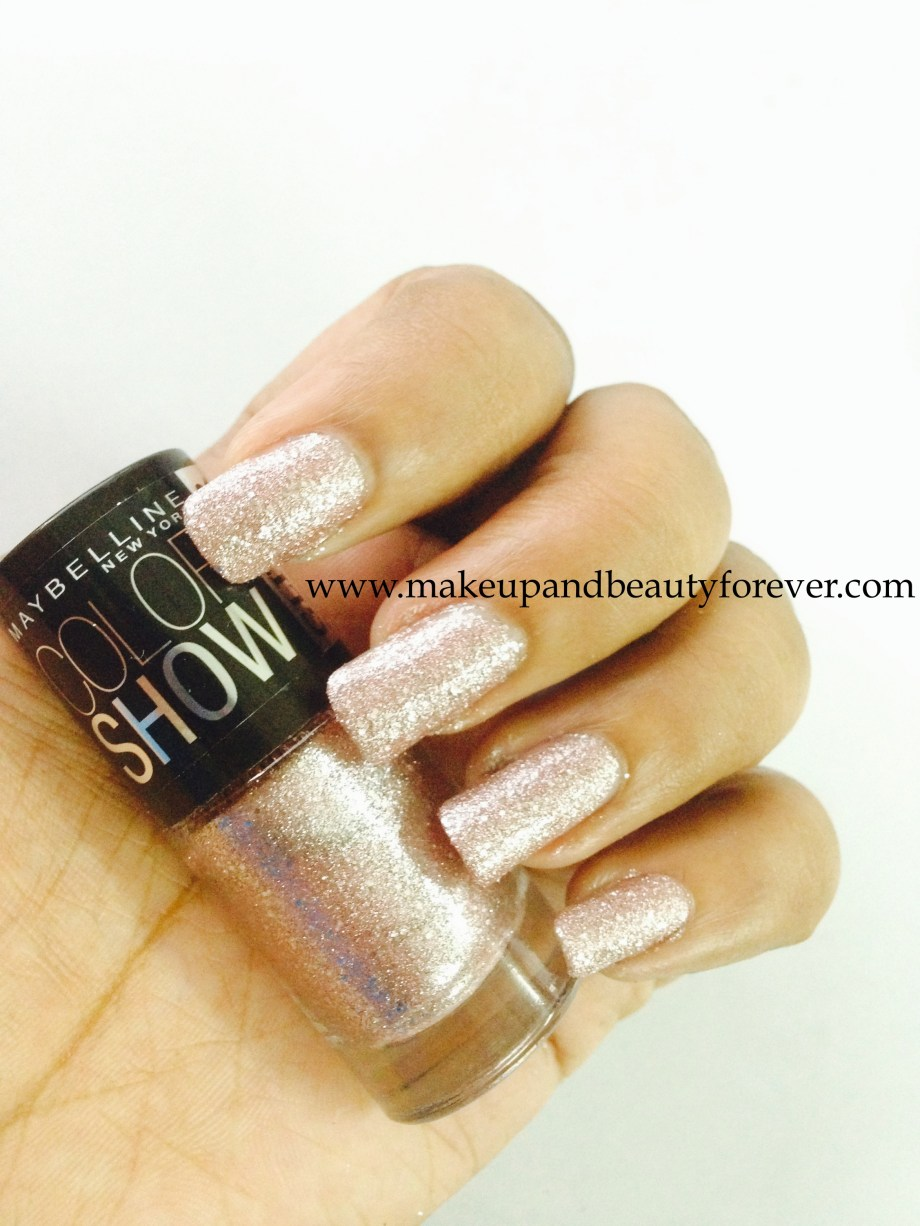 Maybelline ColorShow Glitter Mania Pink Champagne 607