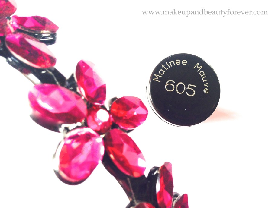 Maybelline ColorShow Glitter Mania matinee mauve 605