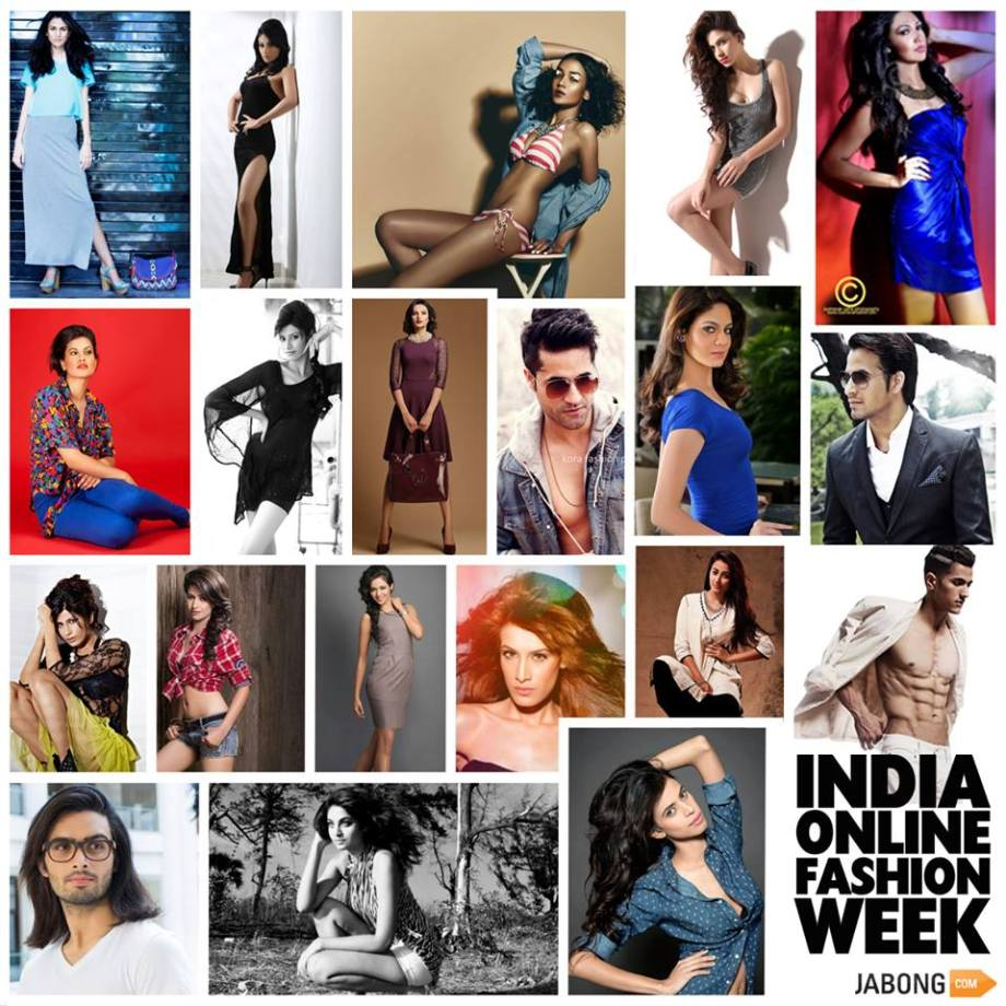 the 20 Models, selected for Jabong's India Online Fashion Week
