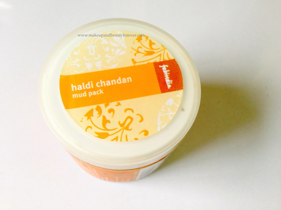 Fabindia Haldi Chandan Mud Pack Review