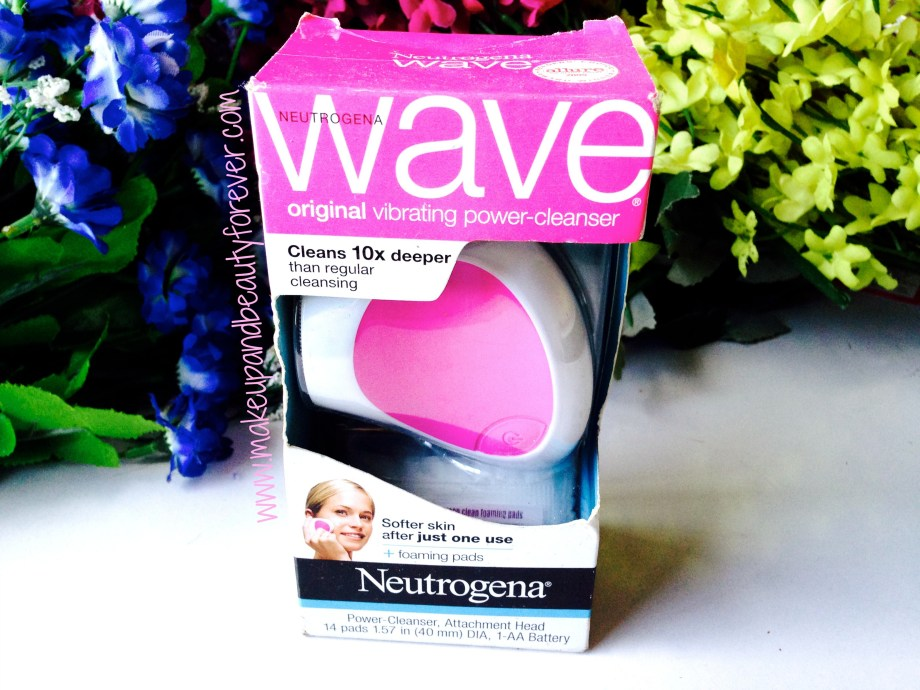 Neutrogena Wave Original Vibrating Power Cleanser and Deep Clean Foaming Pads Review