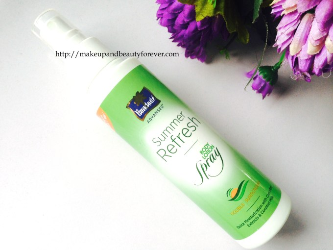 Parachute Summer Refresh Body Lotion Spray Review