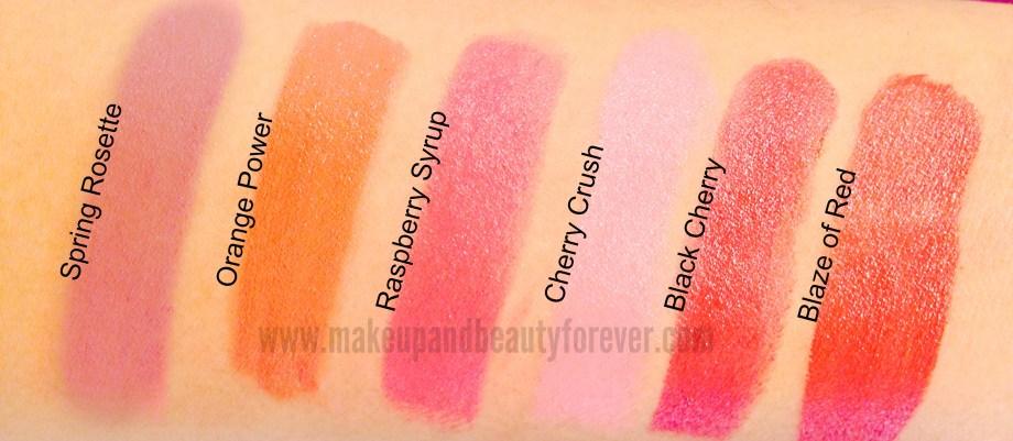 All LOreal Paris Color Riche Moist Matte Lipstick Review, Shades, Swatches, Price Details