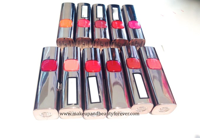 All LOreal Paris Color Riche Moist Matte Lipstick Review, Shades, Swatches, Price and Details available