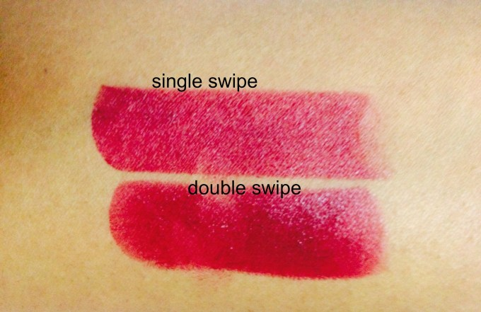 Colorbar Velvet Matte Lipstick Passion Shade. 5 Review Swatches POTDs