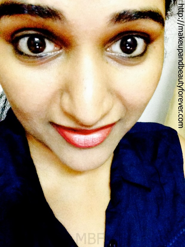 Faces Canada Go Chic Lipstick Claret Cup 416 Review and FOTD
