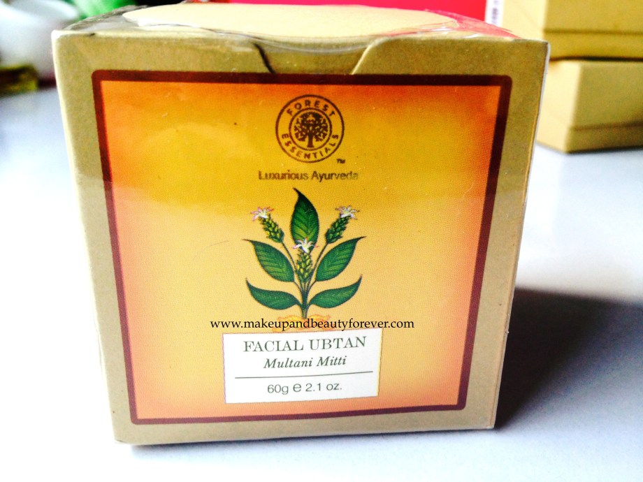 Forest Essentials Facial Ubtan Multani Mitti