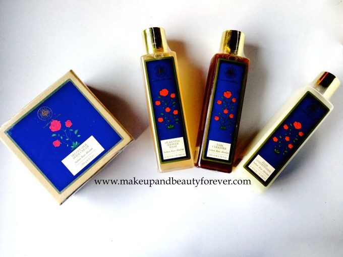 Forest Essentials Indian Rose Absolute Range