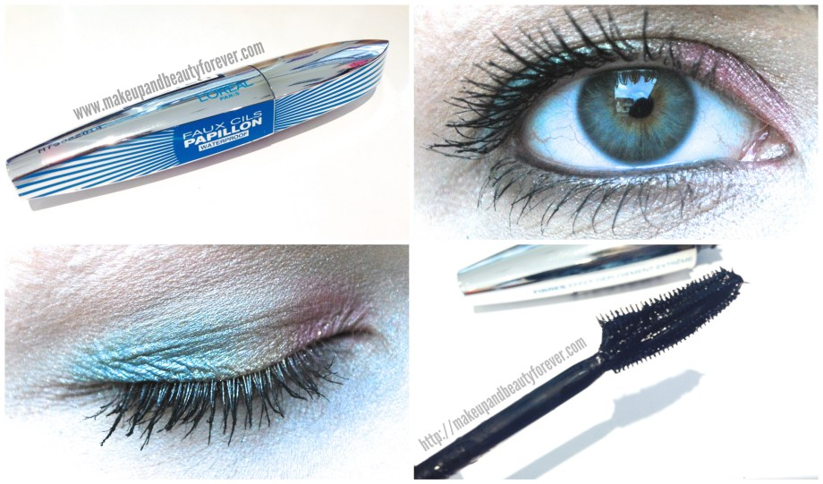 L'Oreal Paris Voluminous Butterfly Mascara (Faux Cils Papillon) Review and EOTD best mascara india