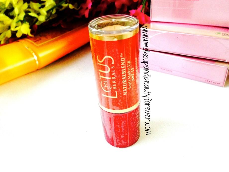 Lotus Herbals Nutrablend Swift Make-up concealer with spf 15