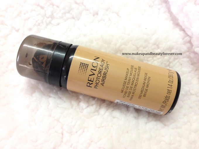 Revlon Photoready Airbrush Mousse Makeup Foundation Review