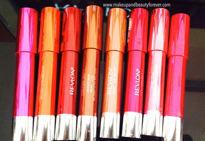 All Revlon ColorBurst Lacquer Balm Review, Shades, Swatches Price and Details