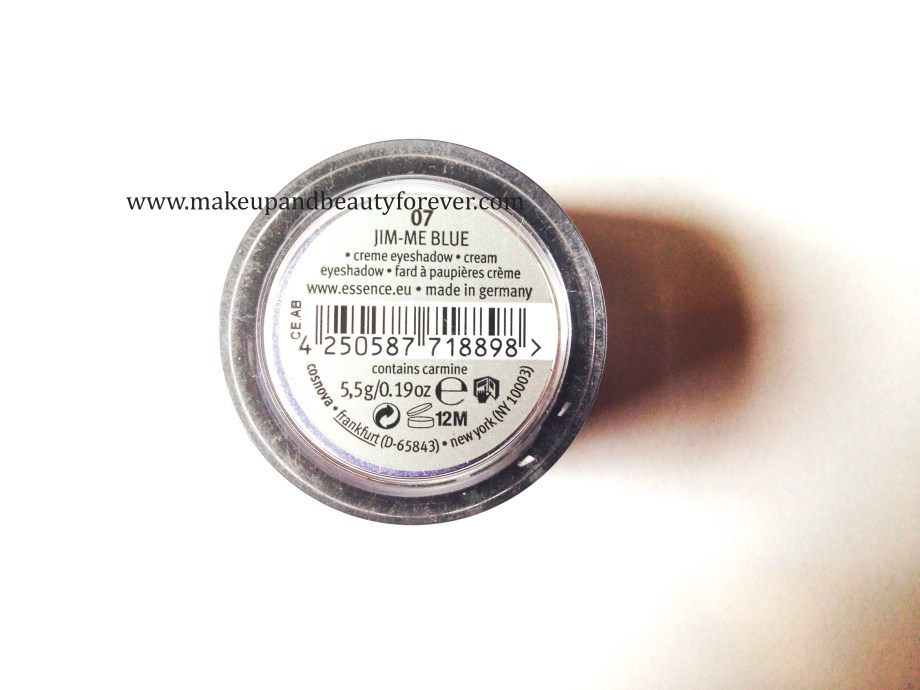 Essence Stay All Day Long Lasting Eye Shadow 07 Jim Me Blue