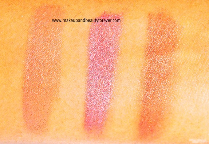 Faces Canada Glam On Creme Blush Sunkissed, Hint of Pink, Pint Mauve, Peach Glow