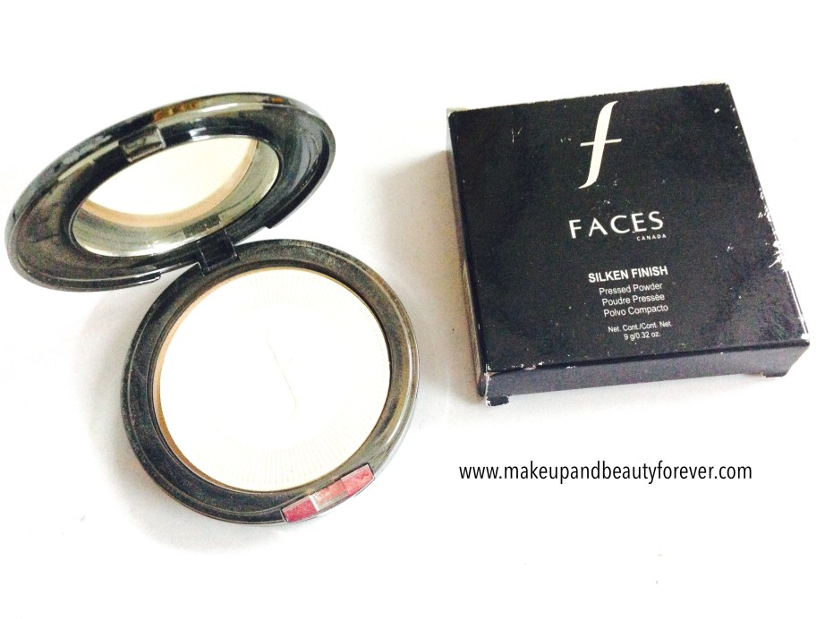 Faces Canada Silken Finish Pressed Powder shade Beige 03 Review India