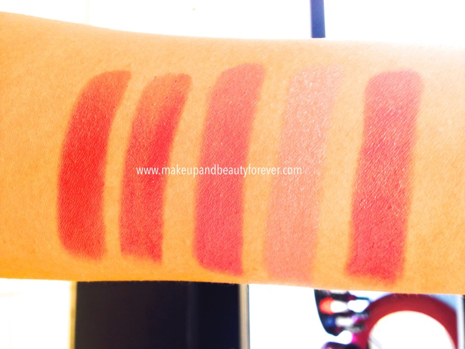 Lakme Absolute Creme Lipcolor Review, Shades, Swatches, Price Details